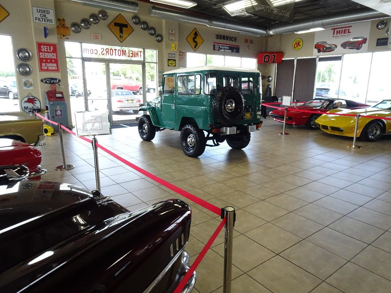 Large Picture of 1978 Toyota Land Cruiser FJ40 located in De Witt Iowa Offered by Thiel Motor Sales Inc. - QCAV
