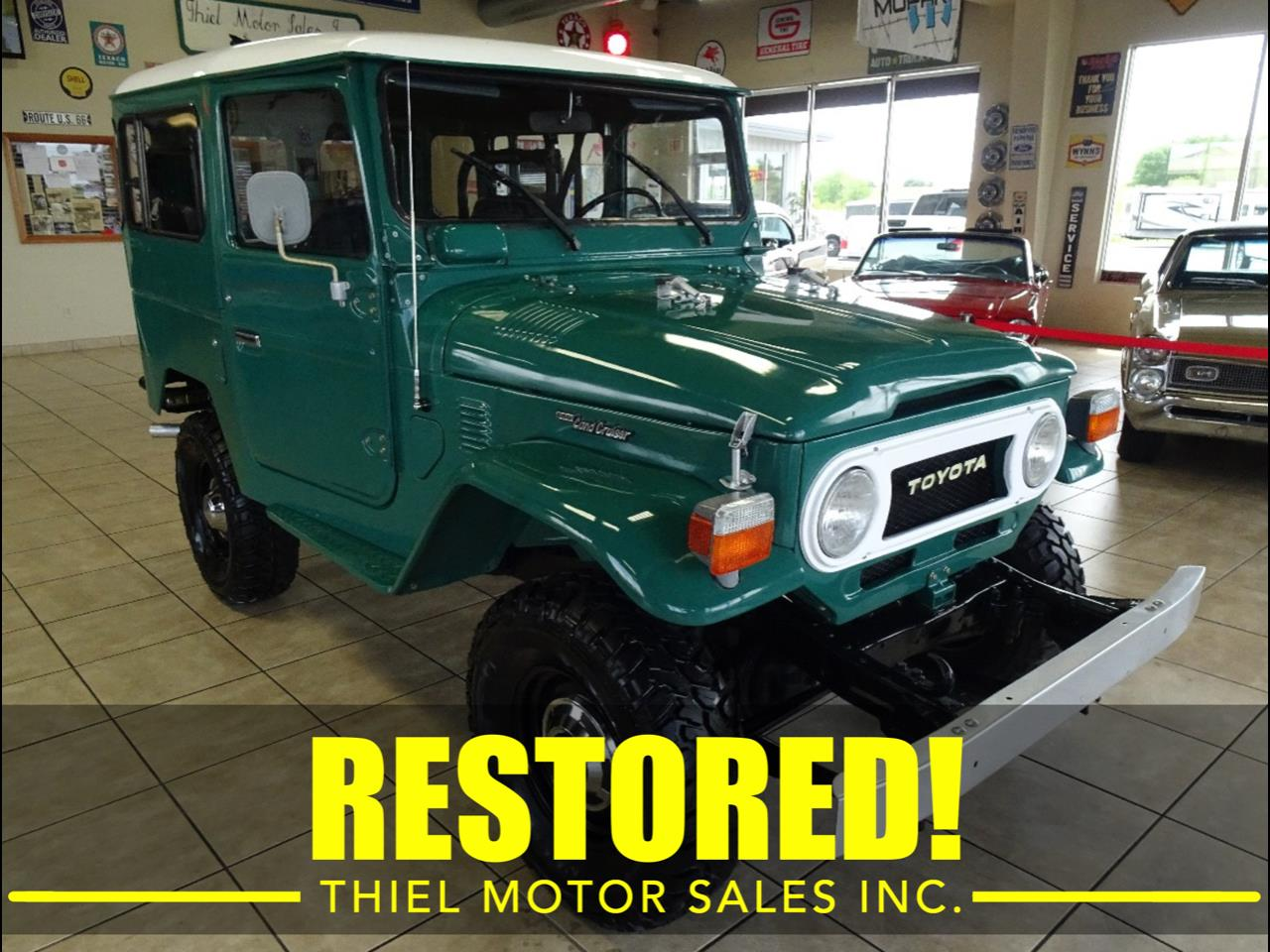 Large Picture of 1978 Land Cruiser FJ40 located in Iowa - $29,997.00 Offered by Thiel Motor Sales Inc. - QCAV
