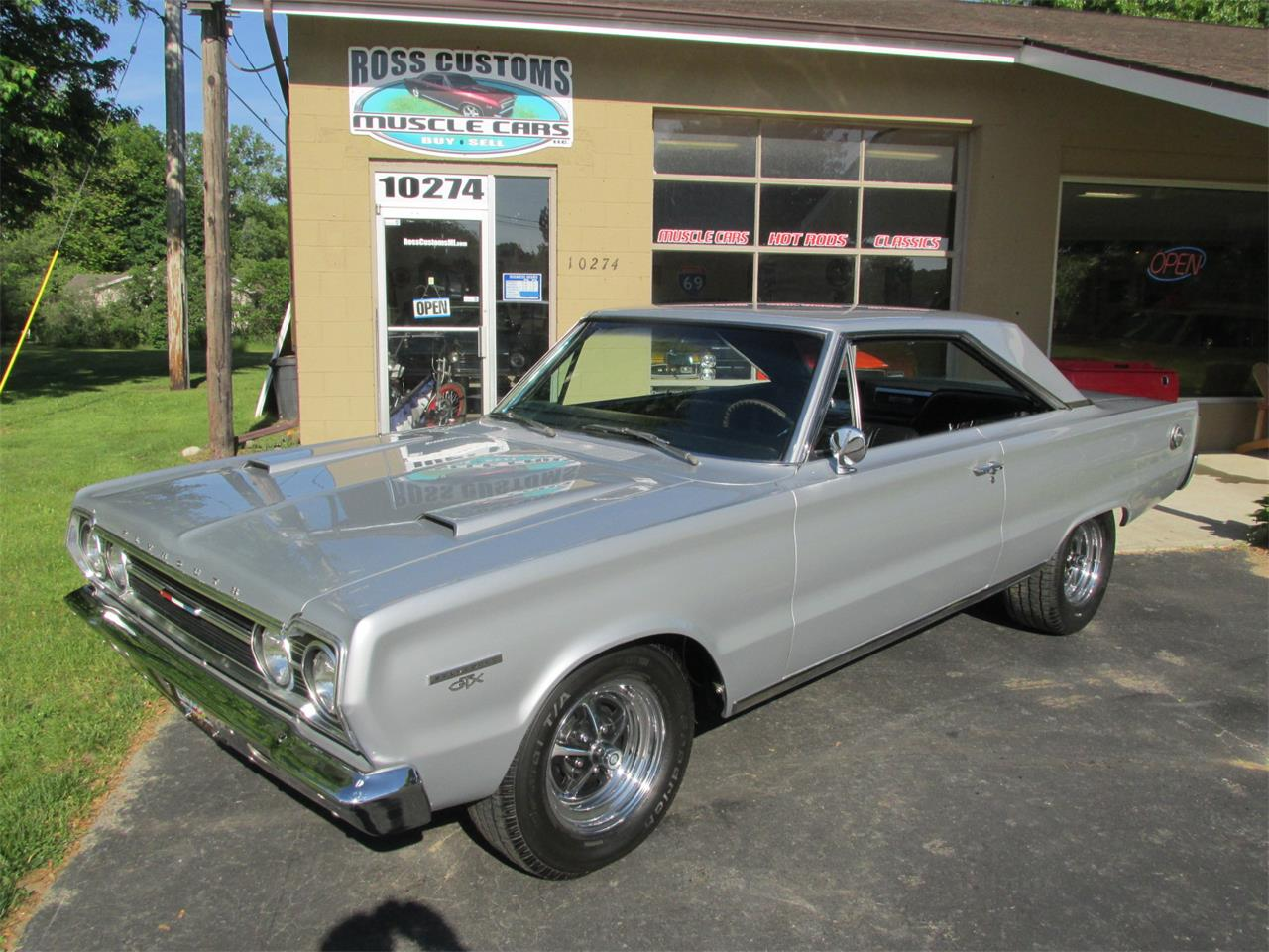 Large Picture of Classic '67 Plymouth GTX located in Michigan - $41,900.00 Offered by Ross Custom Muscle Cars LLC - QCBG