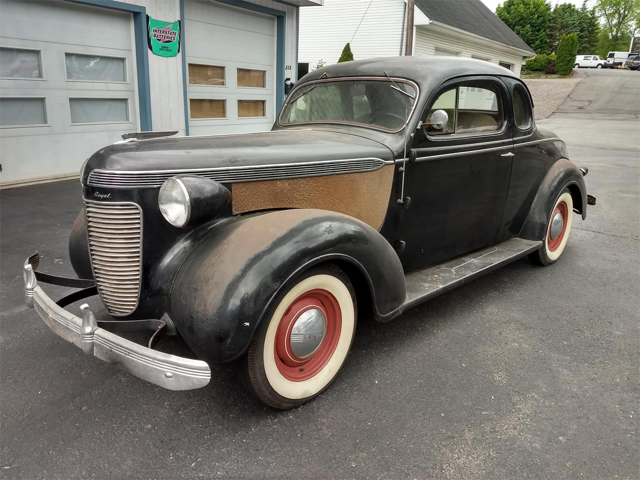 Large Picture of '37 Chrysler 2-Dr Hardtop Offered by Central Pennsylvania Auto Auction - QCEN