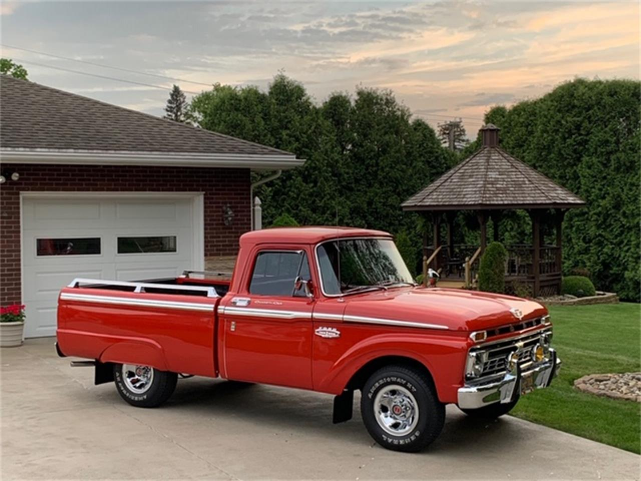Large Picture of '66 F100 - QCEZ