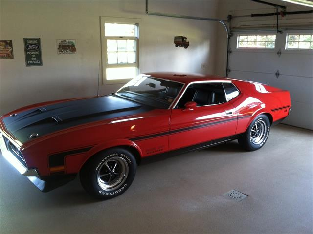 1971 Ford Mustang Boss