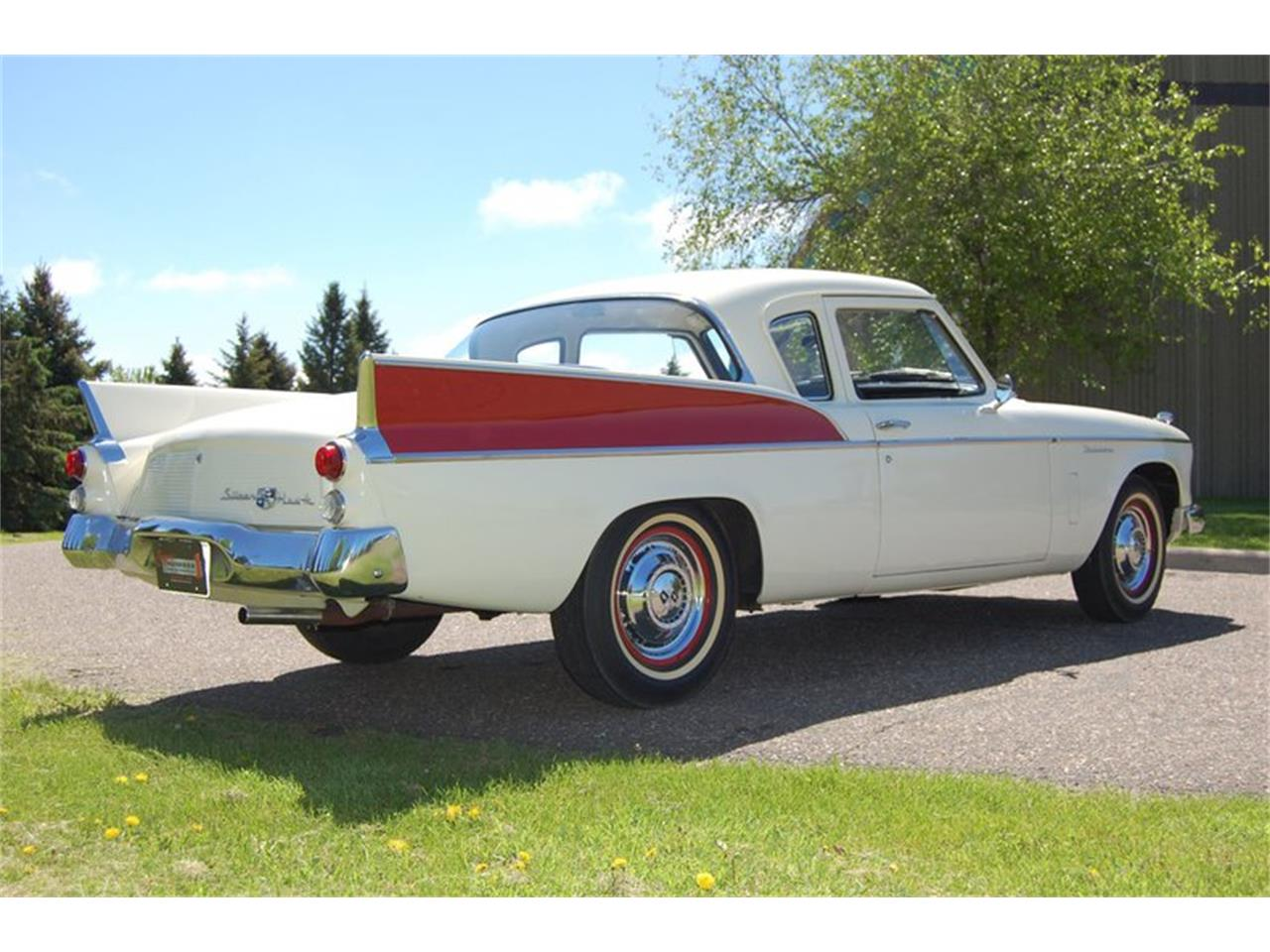 Large Picture of '57 Silver Hawk - QCHX