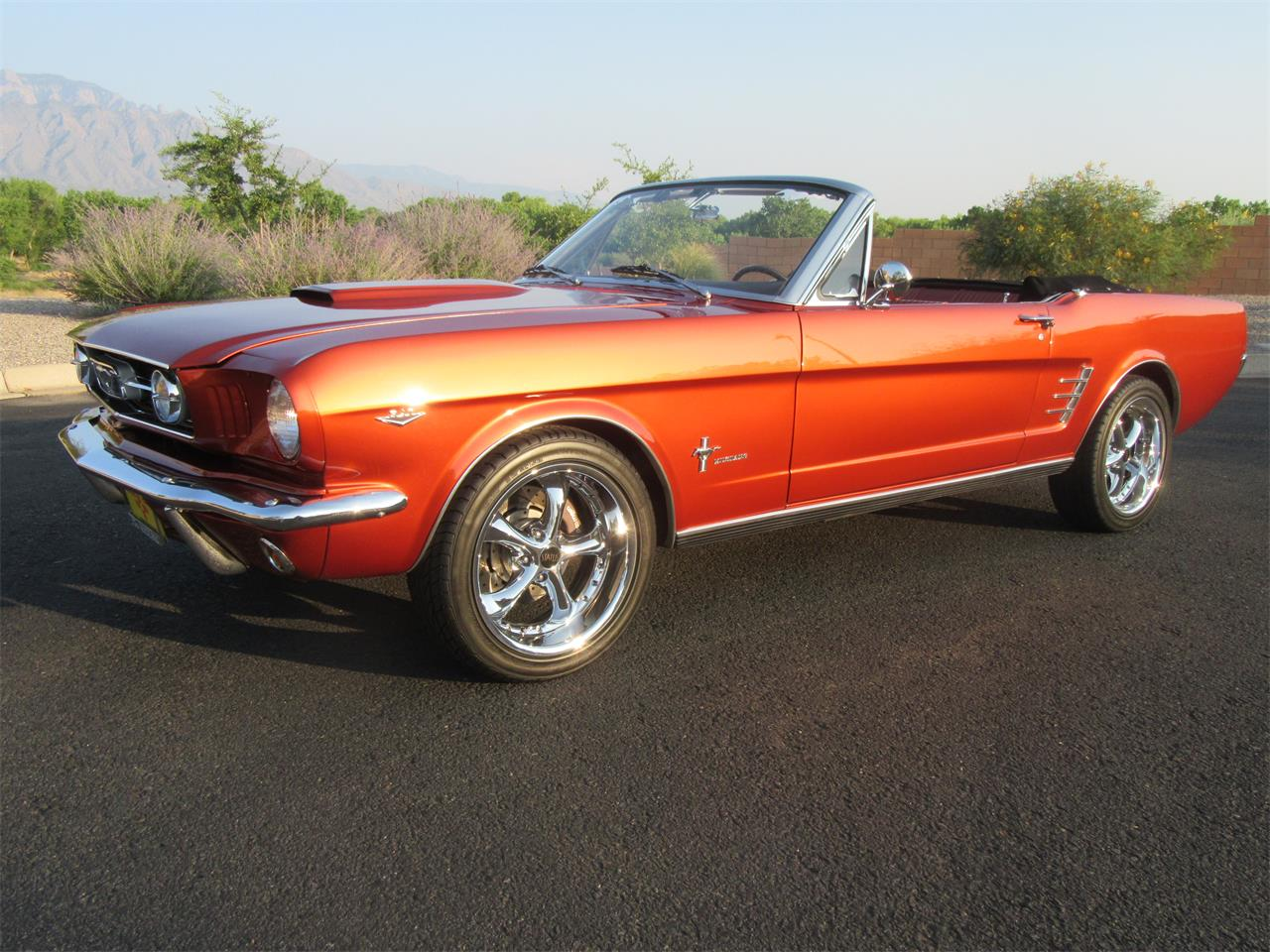 Large Picture of '66 Mustang - QCJP