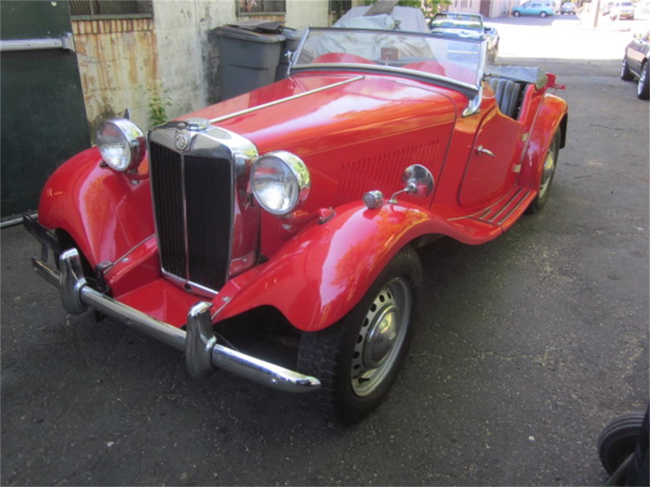 Large Picture of Classic '52 MG TD located in Connecticut - $18,900.00 Offered by The New England Classic Car Co. - QCKK