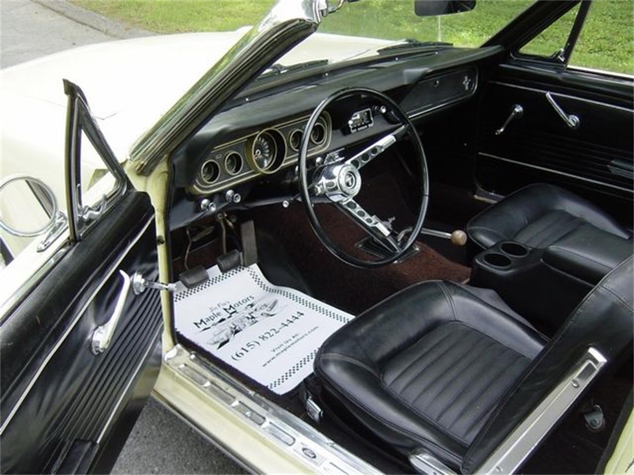 Large Picture of Classic 1966 Ford Mustang located in Hendersonville Tennessee - QCQ2