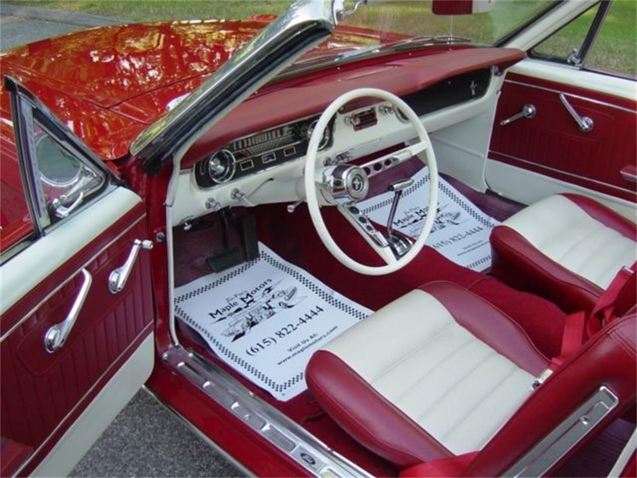 Large Picture of '65 Mustang located in Tennessee Offered by Maple Motors - QCQ3