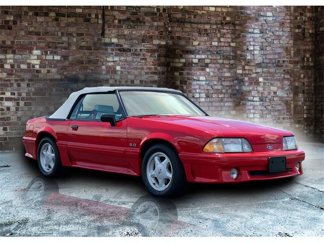 Picture of 1991 Mustang GT Auction Vehicle - QCRY