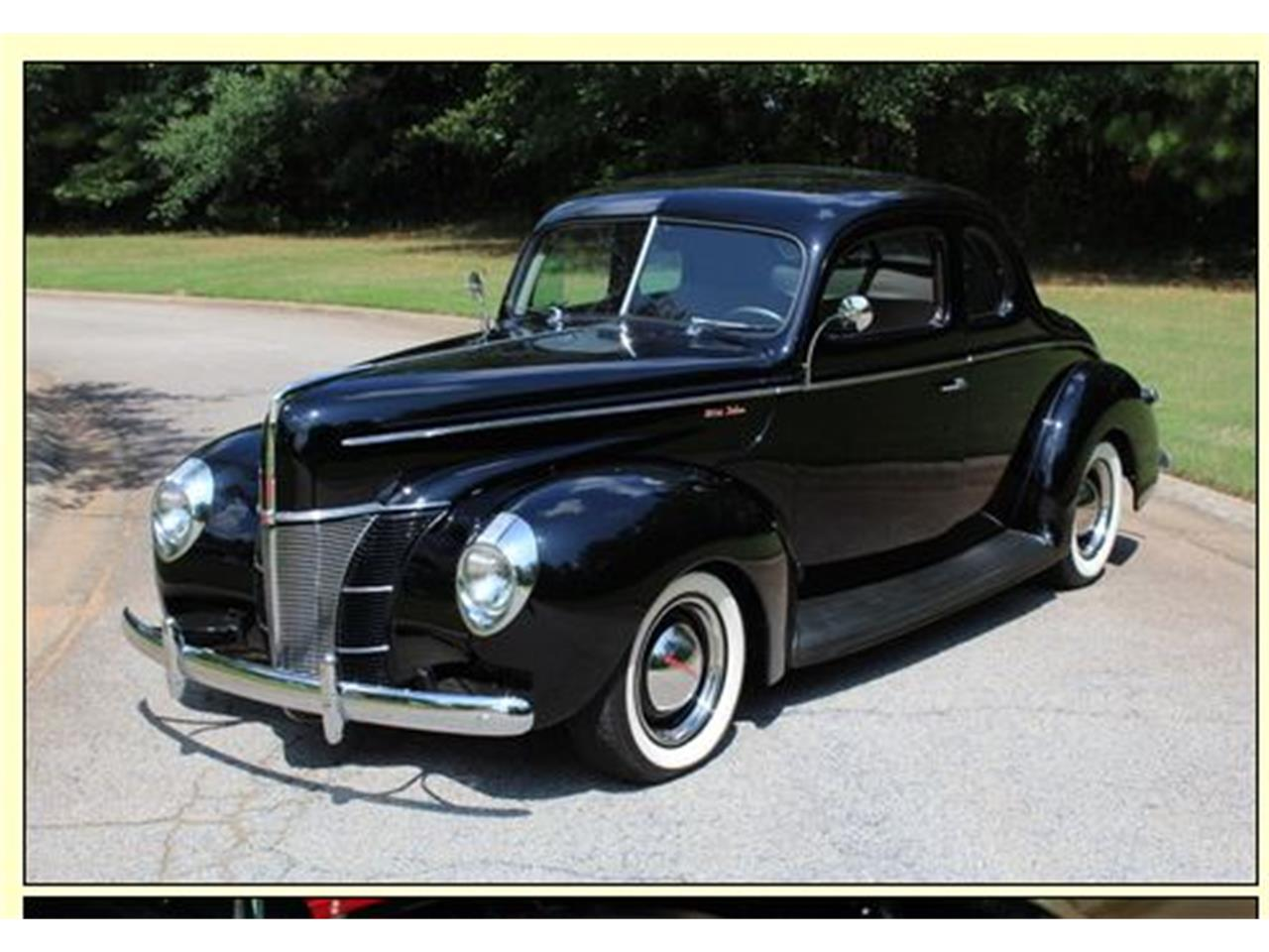 Large Picture of Classic 1940 2-Dr Coupe Offered by a Private Seller - QCS9