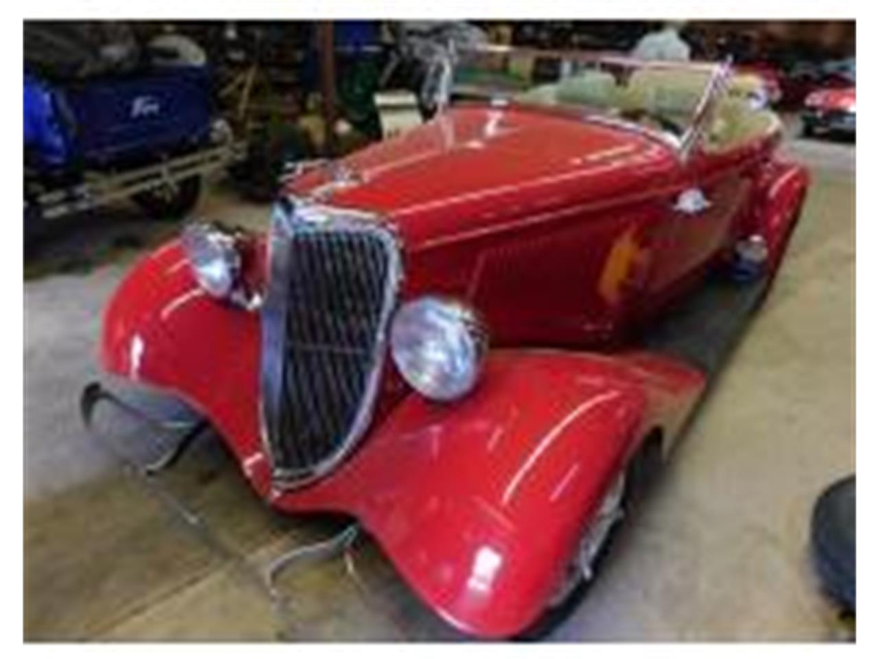 Large Picture of '34 Roadster - QCTA