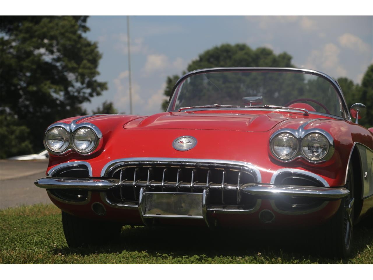 Large Picture of Classic '59 Corvette located in Suwanee Georgia Auction Vehicle Offered by Bullseye Auctions - QCTE