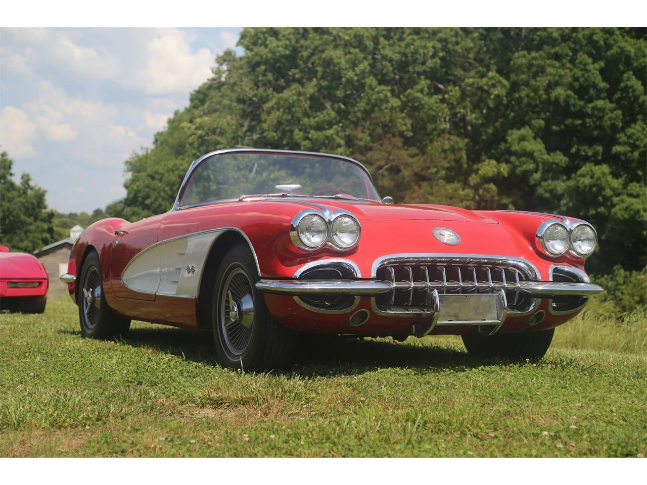 Large Picture of '59 Corvette located in Suwanee Georgia Offered by Bullseye Auctions - QCTE