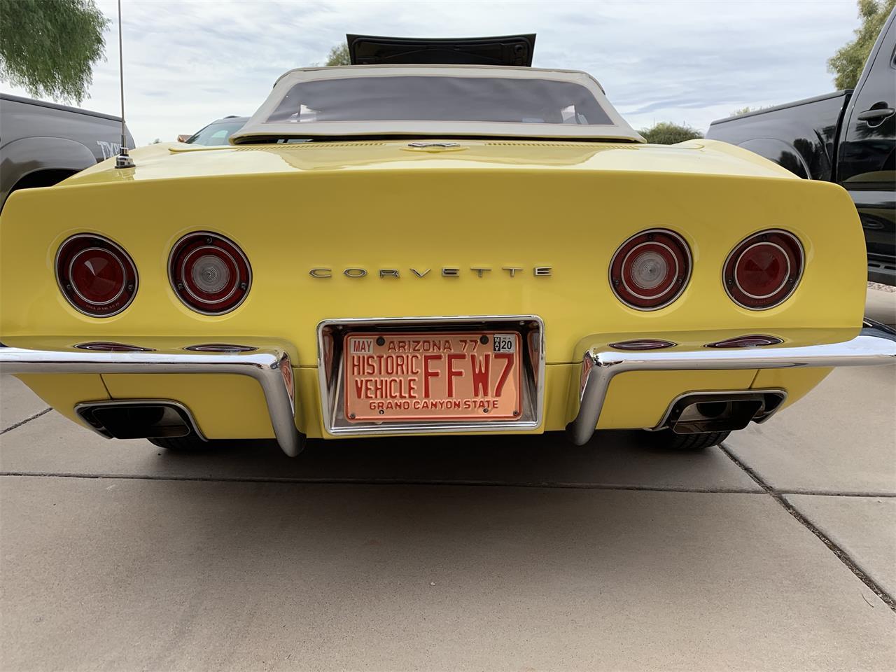 Large Picture of '70 Corvette - QCU3