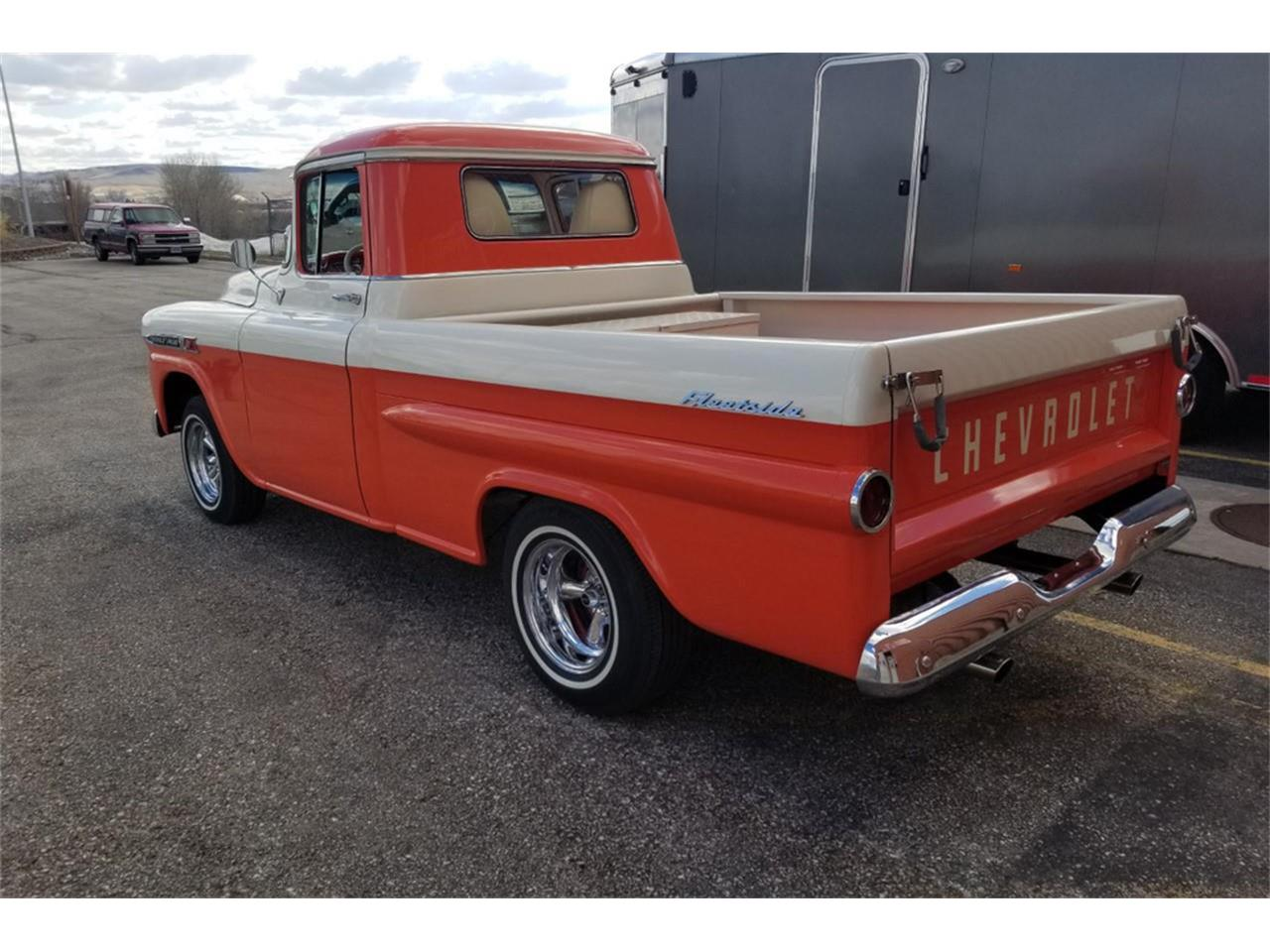 Large Picture of Classic '59 Chevrolet Apache located in Uncasville Connecticut Auction Vehicle Offered by Barrett-Jackson - QCX3