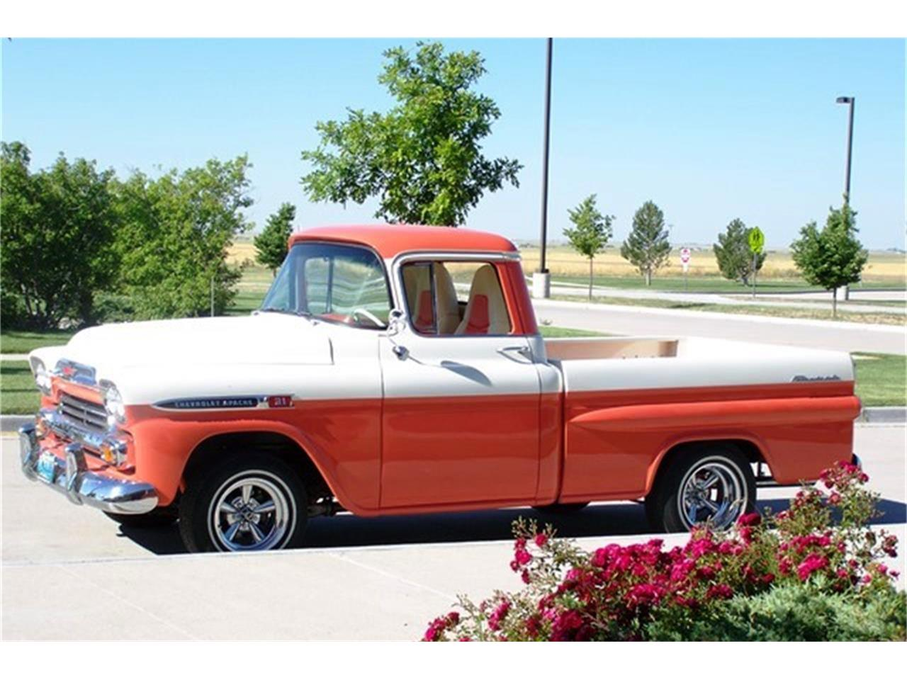 Large Picture of Classic '59 Apache Auction Vehicle Offered by Barrett-Jackson - QCX3