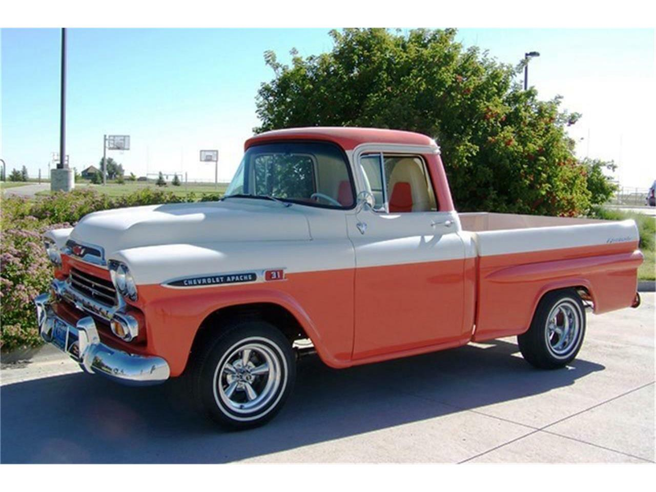 Large Picture of Classic '59 Chevrolet Apache located in Connecticut Auction Vehicle - QCX3