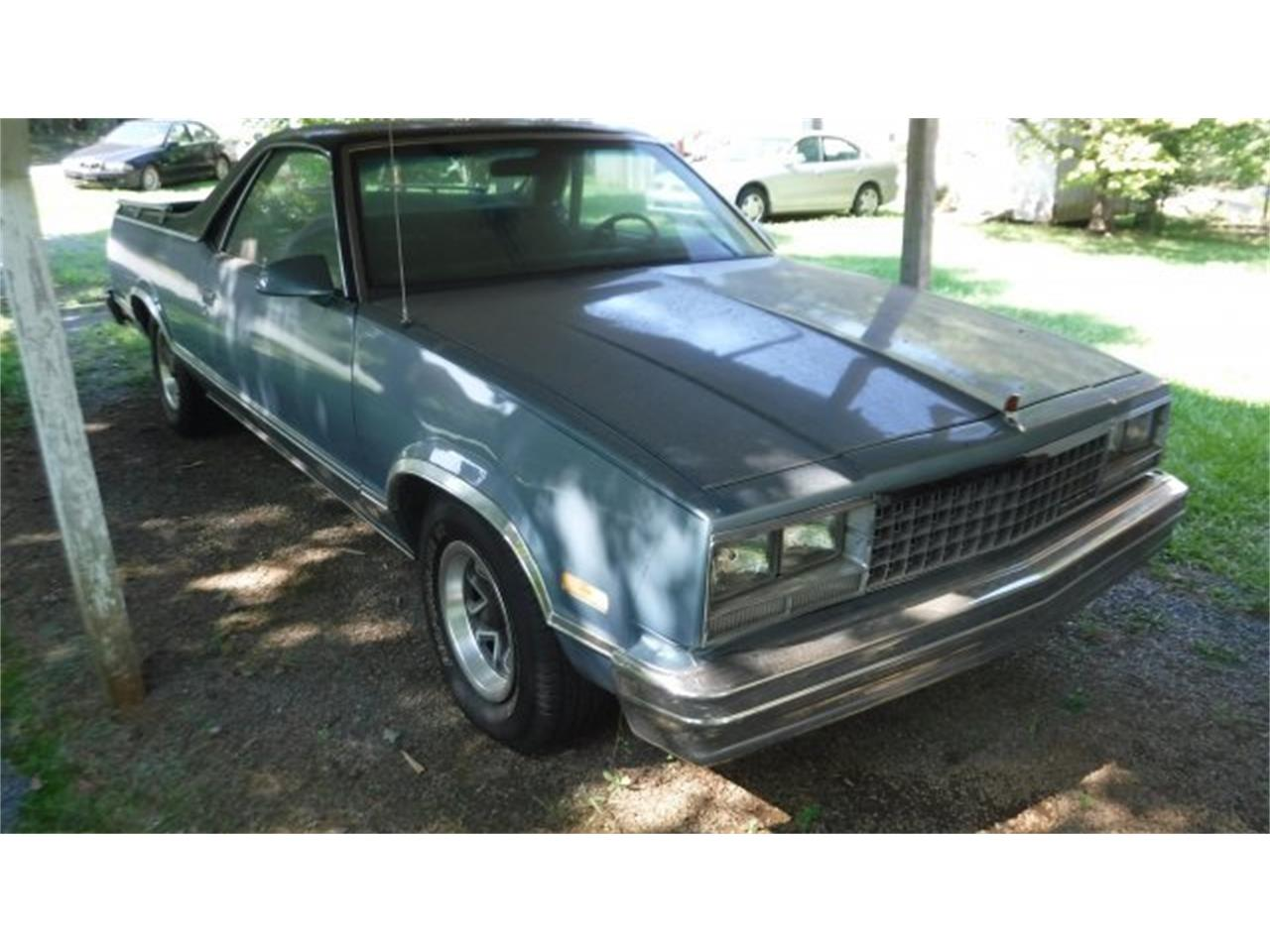 Large Picture of '87 El Camino - QCYR