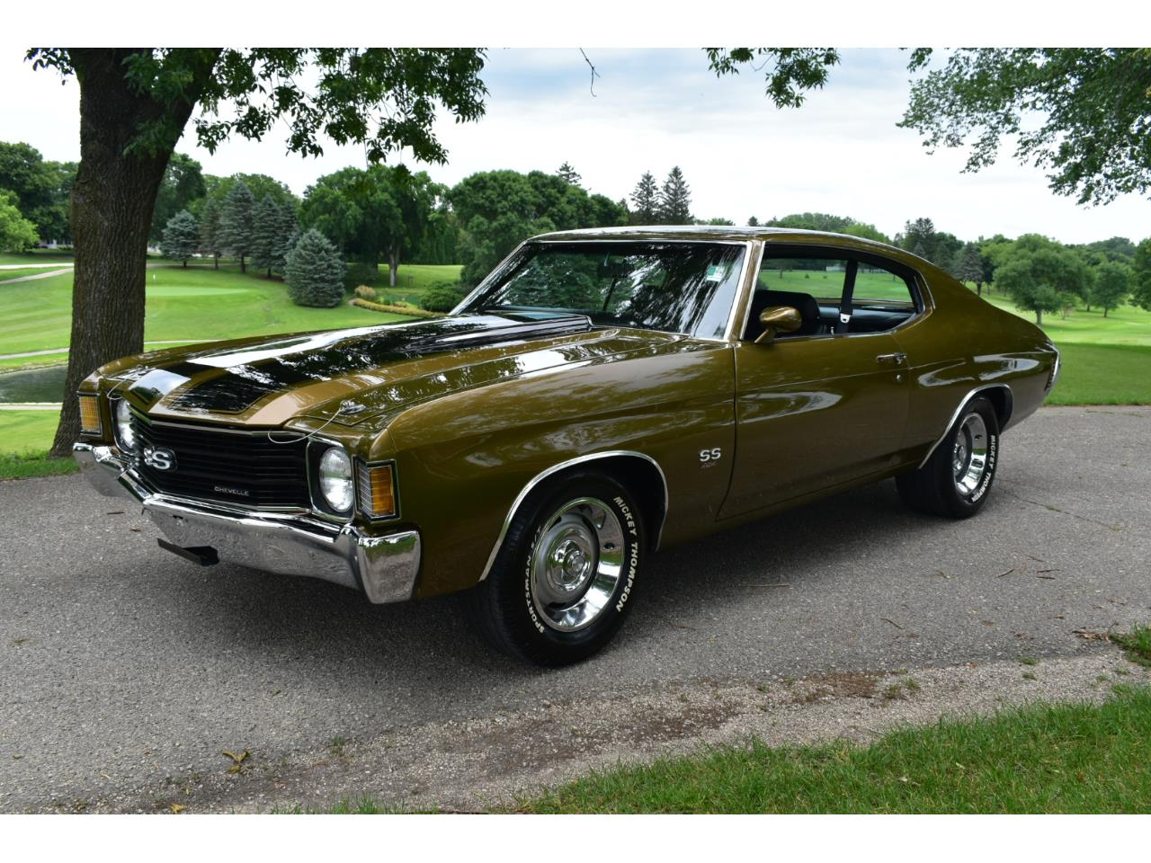 Large Picture of 1972 Chevelle Malibu SS located in Iowa - $37,995.00 Offered by Coyote Classics - QD08