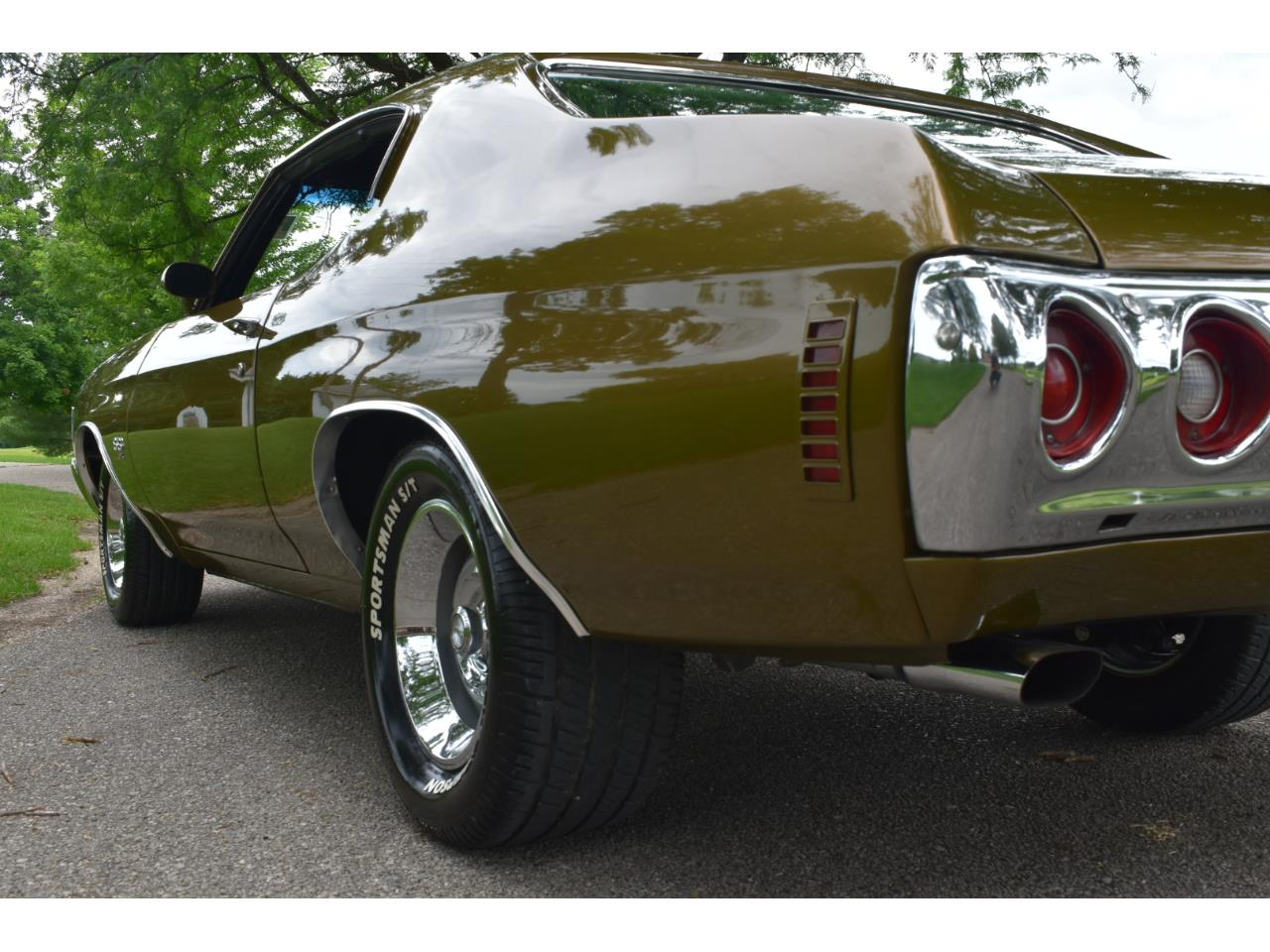 Large Picture of Classic '72 Chevrolet Chevelle Malibu SS Offered by Coyote Classics - QD08