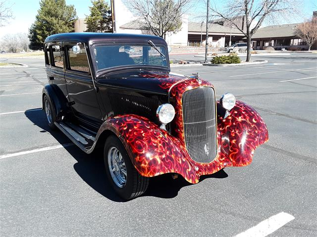 1933 Plymouth 4-Dr Sedan
