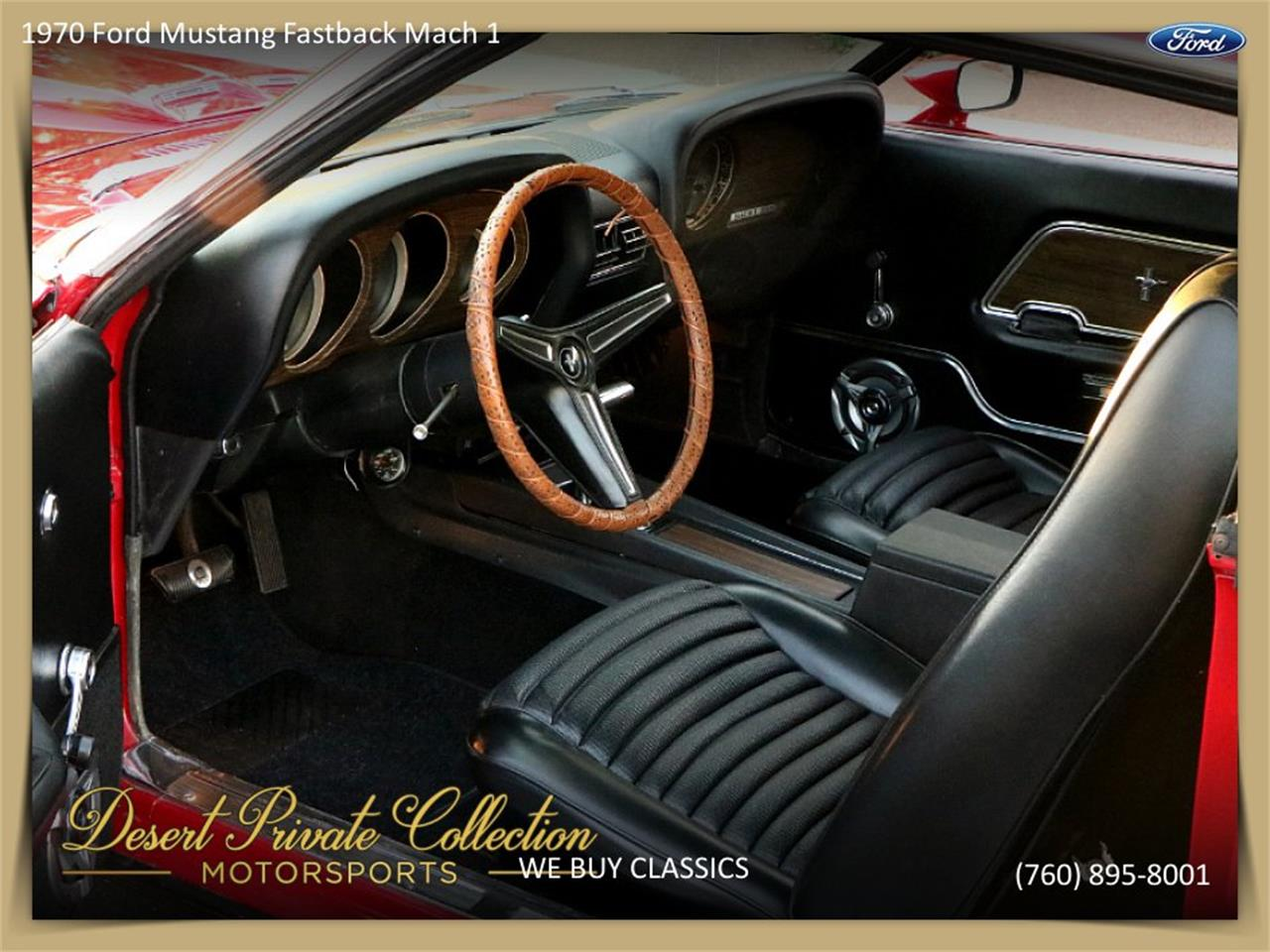 Large Picture of Classic 1970 Ford Mustang Mach 1 - $36,950.00 - QDYU