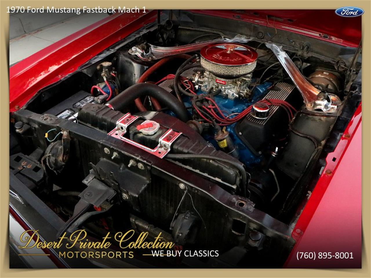 Large Picture of Classic '70 Mustang Mach 1 located in Palm Desert  California - QDYU
