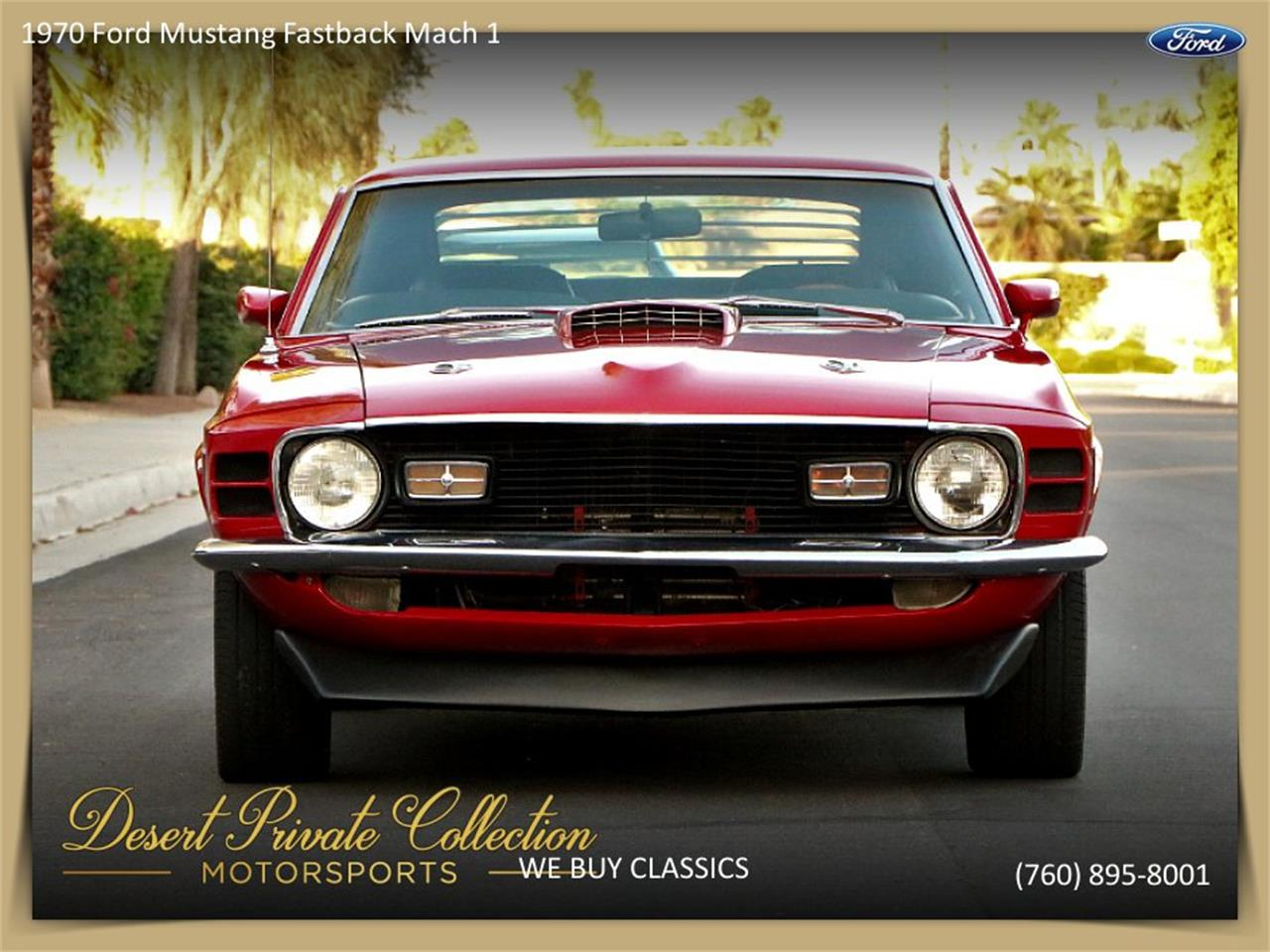 Large Picture of Classic '70 Mustang Mach 1 located in California - $36,950.00 - QDYU