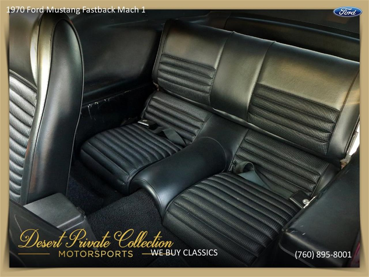 Large Picture of Classic '70 Mustang Mach 1 Offered by Palm Desert Auto - QDYU
