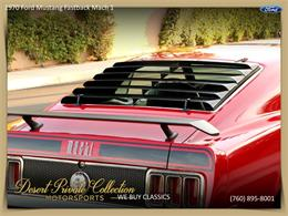 Picture of Classic 1970 Mustang Mach 1 located in Palm Desert  California - QDYU