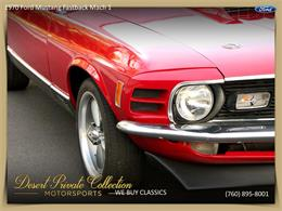 Picture of Classic '70 Ford Mustang Mach 1 located in Palm Desert  California - $36,950.00 - QDYU