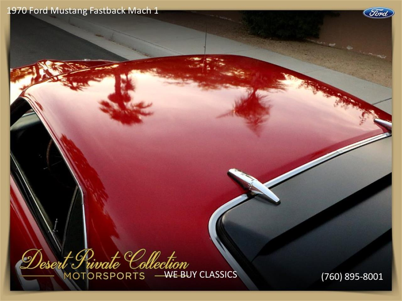Large Picture of 1970 Ford Mustang Mach 1 located in California - $36,950.00 Offered by Palm Desert Auto - QDYU