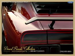 Picture of Classic '70 Ford Mustang Mach 1 located in California - $36,950.00 Offered by Palm Desert Auto - QDYU