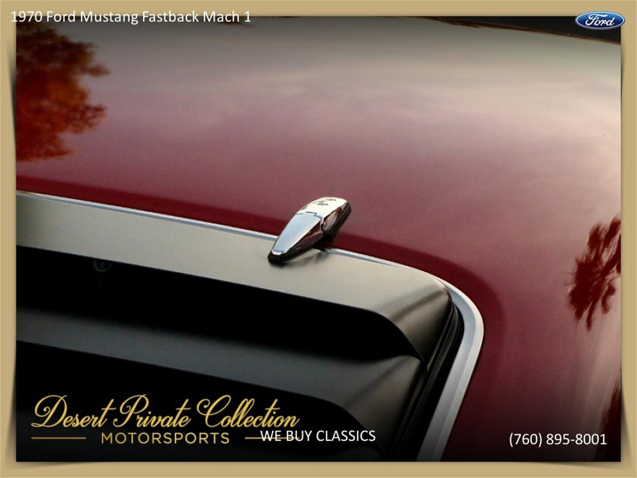 Large Picture of Classic '70 Mustang Mach 1 - $36,950.00 Offered by Palm Desert Auto - QDYU