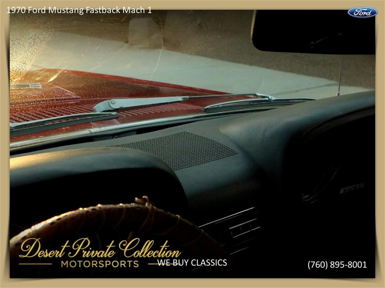 Large Picture of Classic '70 Ford Mustang Mach 1 - $36,950.00 Offered by Palm Desert Auto - QDYU