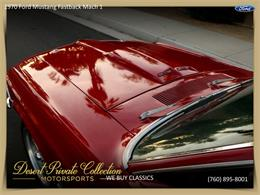 Picture of Classic '70 Ford Mustang Mach 1 - $36,950.00 Offered by Palm Desert Auto - QDYU