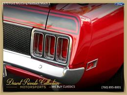Picture of 1970 Mustang Mach 1 located in Palm Desert  California Offered by Palm Desert Auto - QDYU