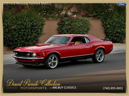 Picture of Classic 1970 Ford Mustang Mach 1 - $36,950.00 Offered by Palm Desert Auto - QDYU
