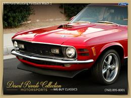 Picture of Classic 1970 Ford Mustang Mach 1 located in Palm Desert  California - QDYU