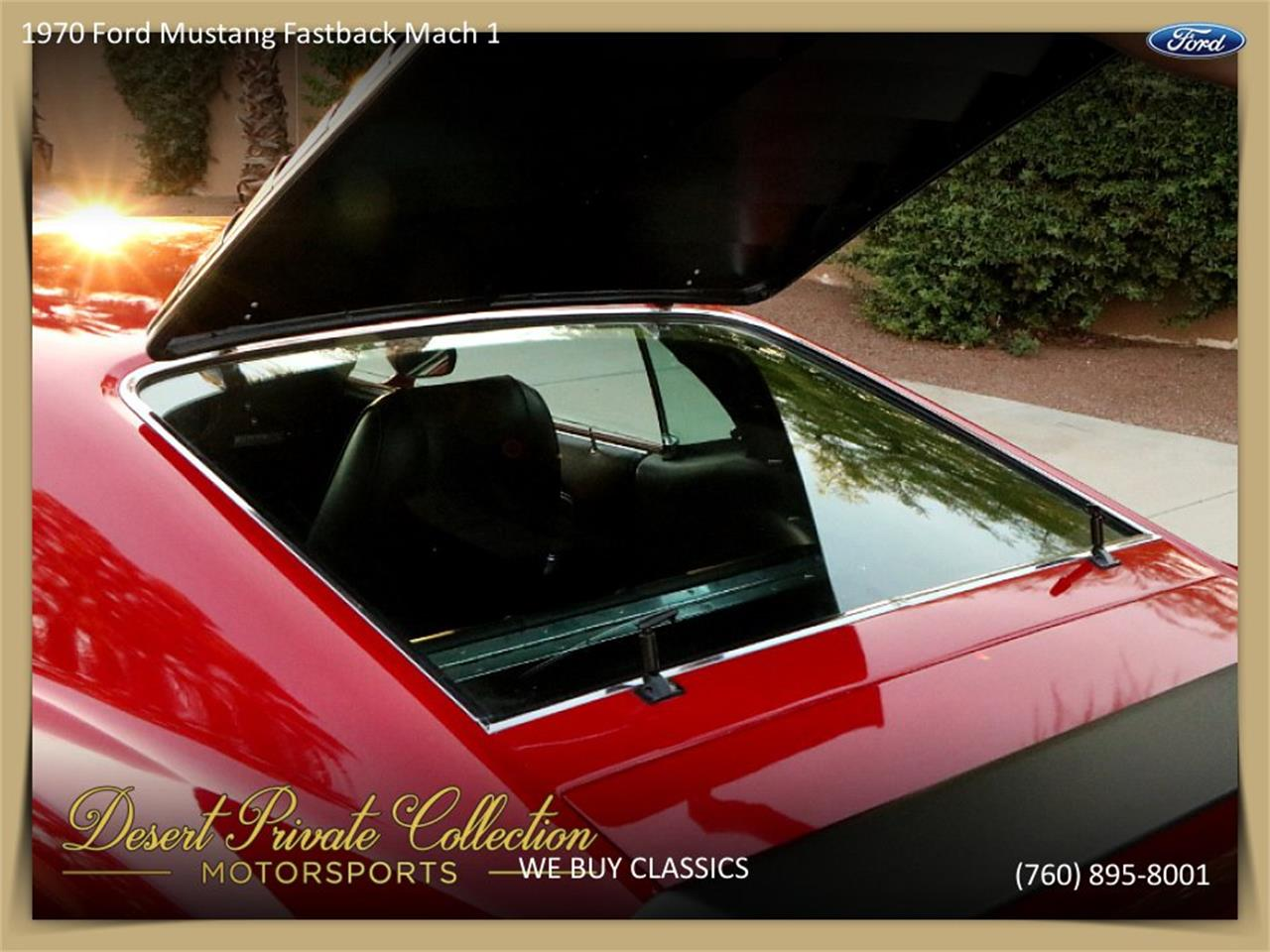 Large Picture of '70 Mustang Mach 1 located in Palm Desert  California - QDYU