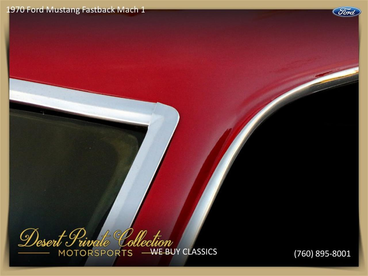 Large Picture of Classic 1970 Mustang Mach 1 Offered by Palm Desert Auto - QDYU