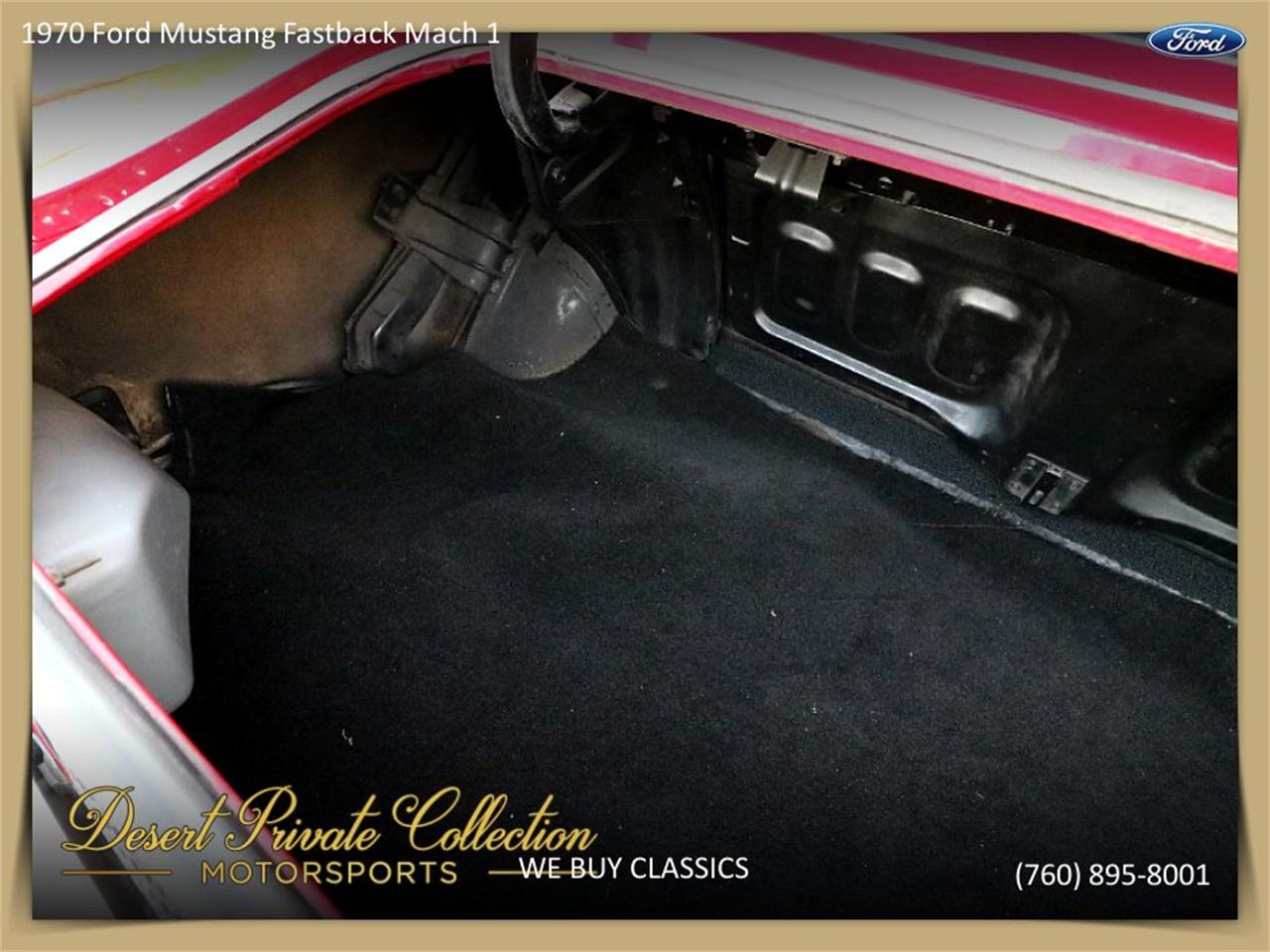 Large Picture of Classic '70 Mustang Mach 1 located in Palm Desert  California - $36,950.00 - QDYU