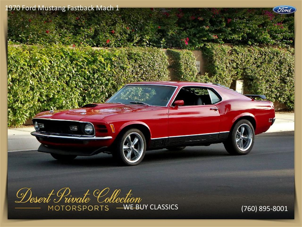 Large Picture of '70 Ford Mustang Mach 1 located in California - QDYU