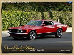 Picture of Classic 1970 Mustang Mach 1 - $36,950.00 Offered by Palm Desert Auto - QDYU