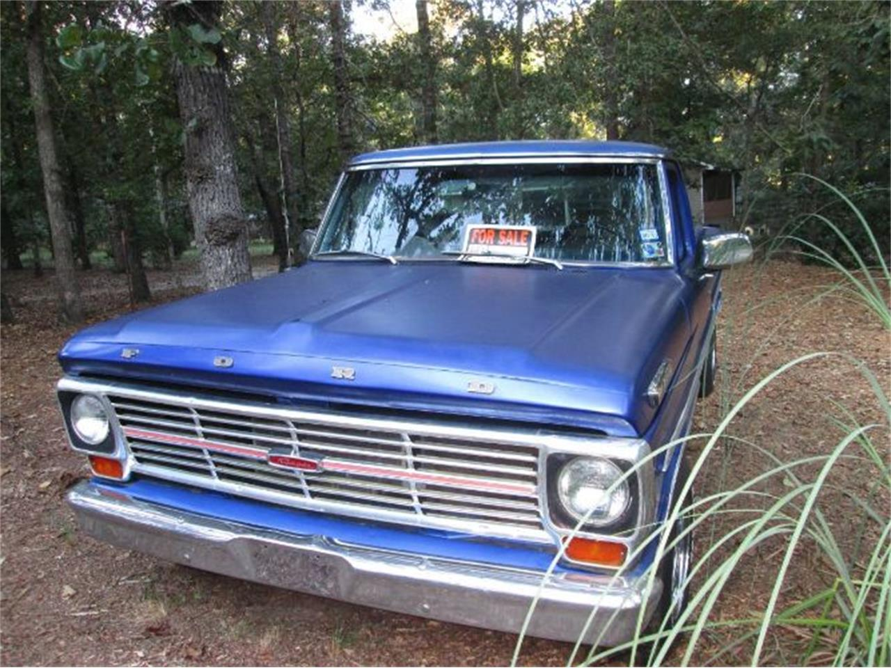 Large Picture of '69 F100 - QE12