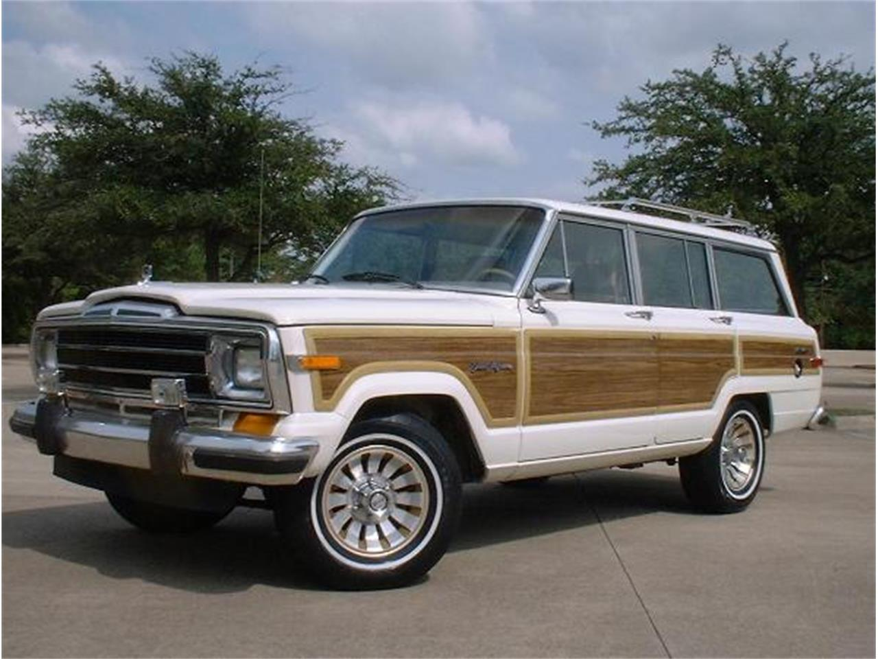 Jeep Grand Wagoneer For Sale >> 1987 Jeep Grand Wagoneer For Sale Classiccars Com Cc 1231430