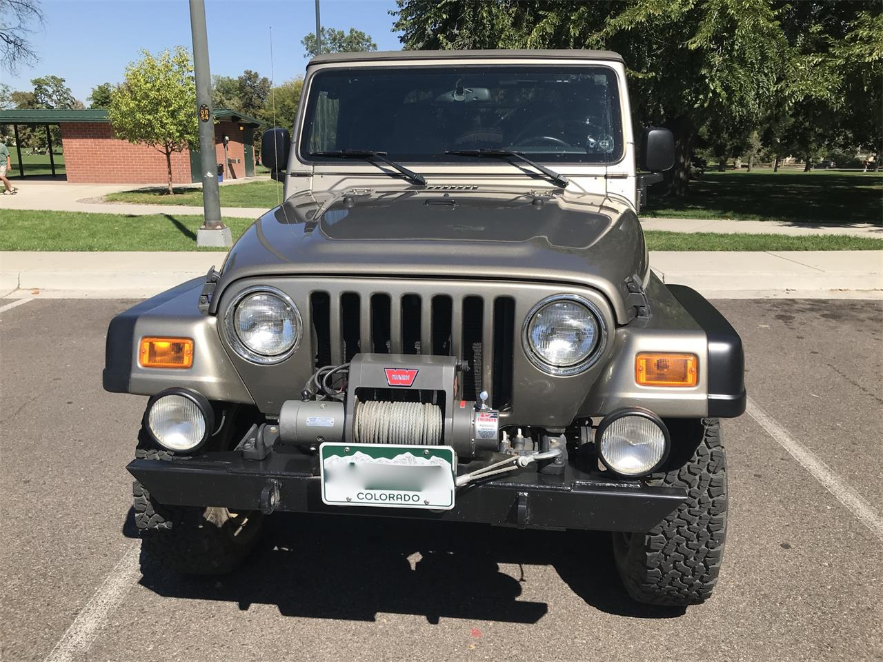 Large Picture of 2005 Jeep Wrangler located in Denver Colorado - QE97