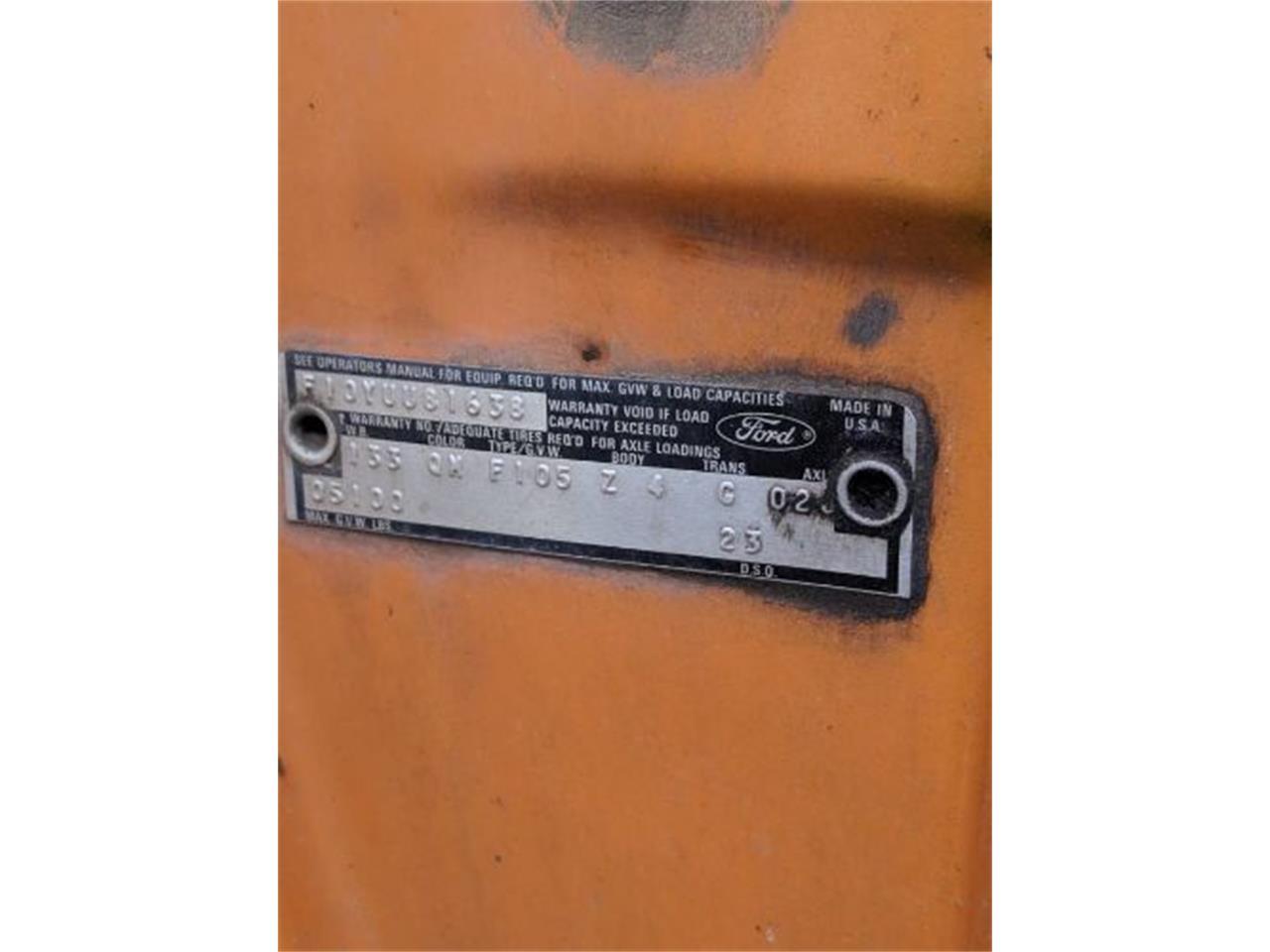 Large Picture of '74 F100 - QEB9