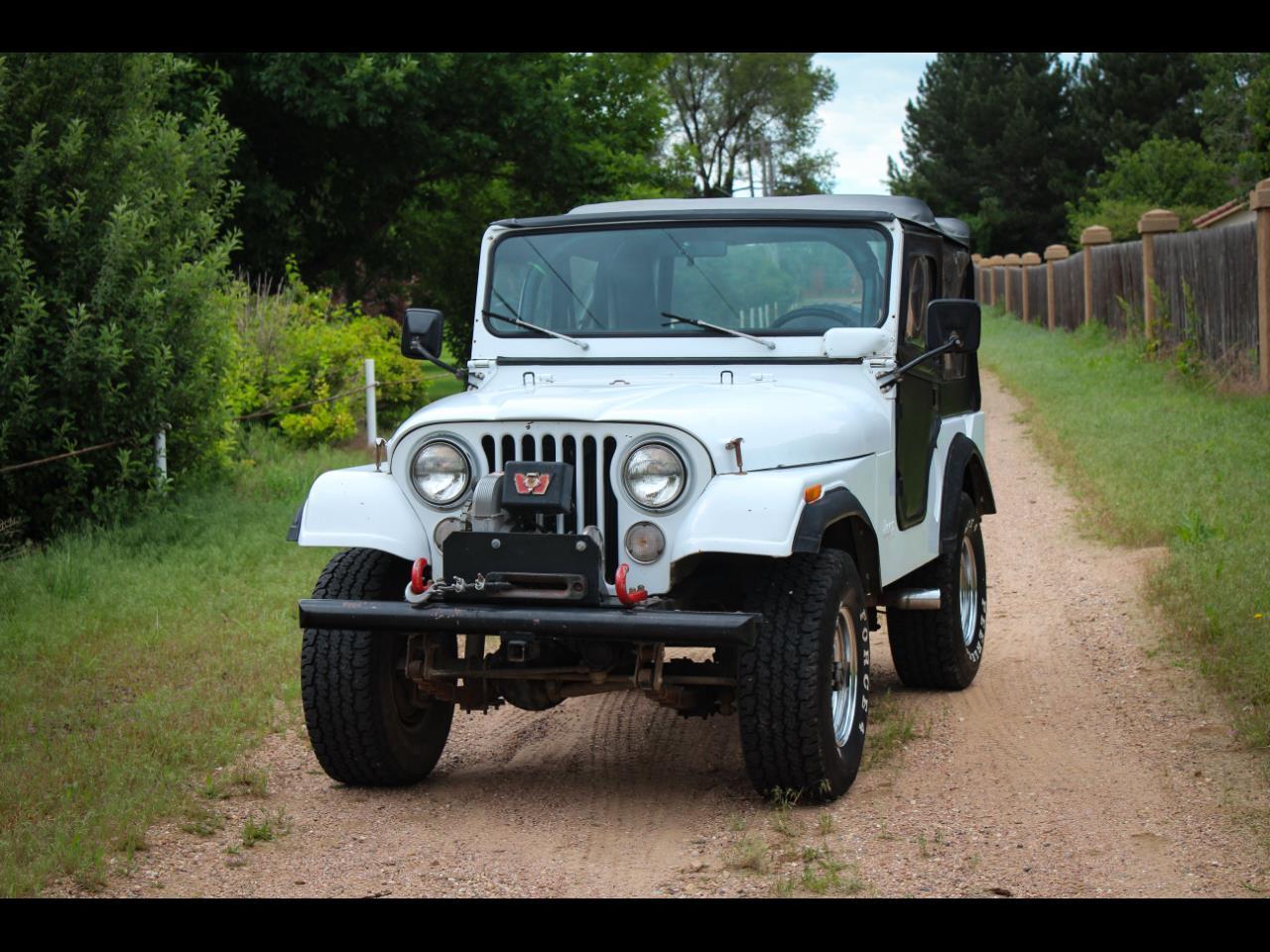 Large Picture of 1974 Jeep CJ5 located in Greeley Colorado - $6,500.00 - QEBK