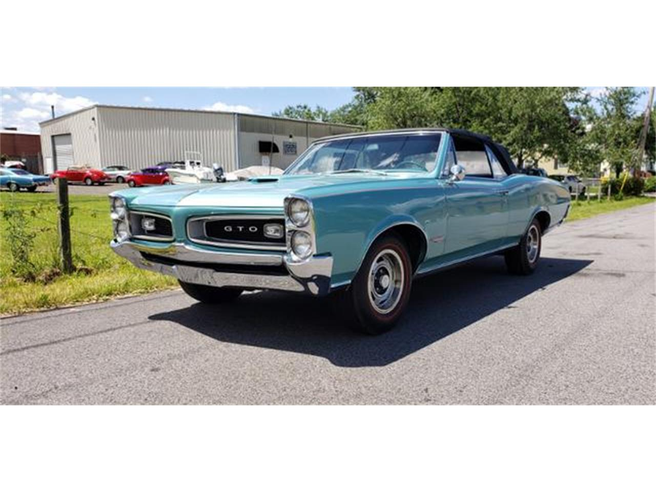 Large Picture of 1966 Pontiac GTO located in Linthicum Maryland - $52,500.00 Offered by Universal Auto Sales - QEBL