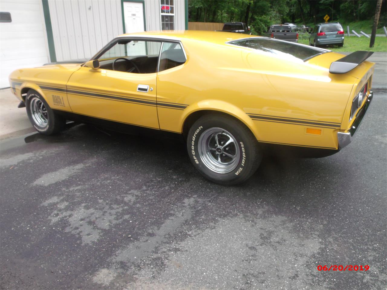 Large Picture of '71 Mustang Mach 1 - QEBW